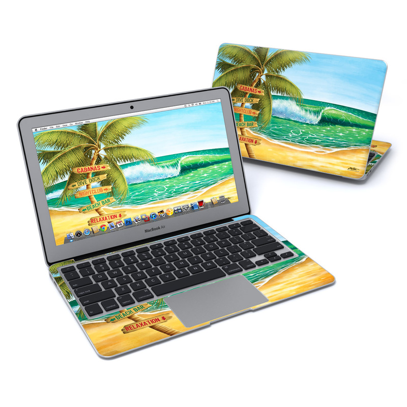 Palm Signs MacBook Air 11-inch Skin