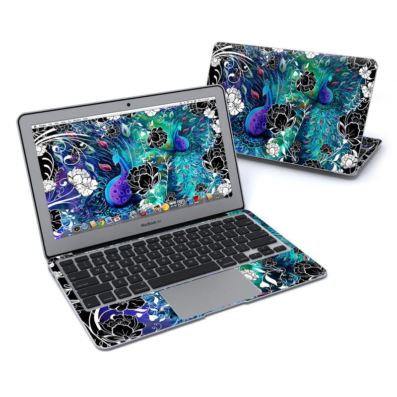 Peacock Garden MacBook Air 11-inch Skin