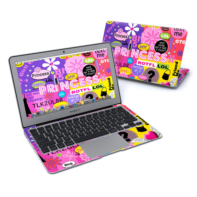 Princess Text Me MacBook Air 11-inch Skin