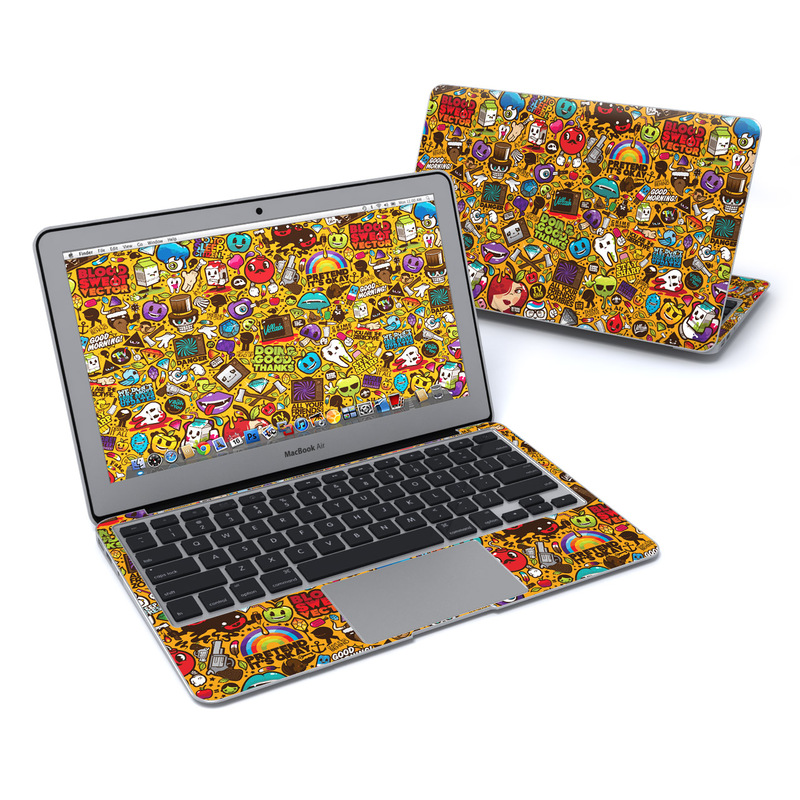 Psychedelic MacBook Air 11-inch Skin