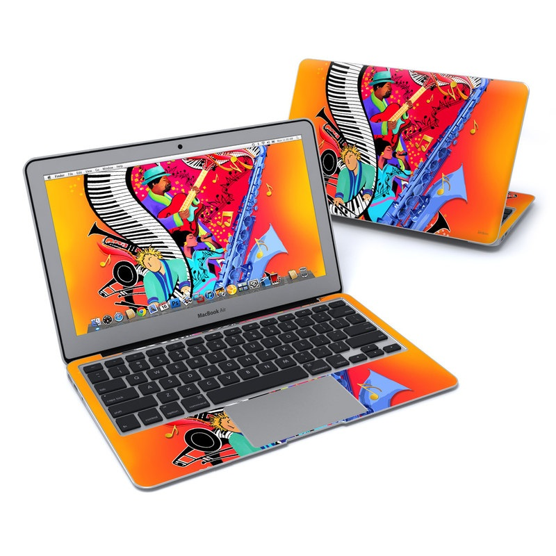 Red Hot Jazz MacBook Air 11-inch Skin