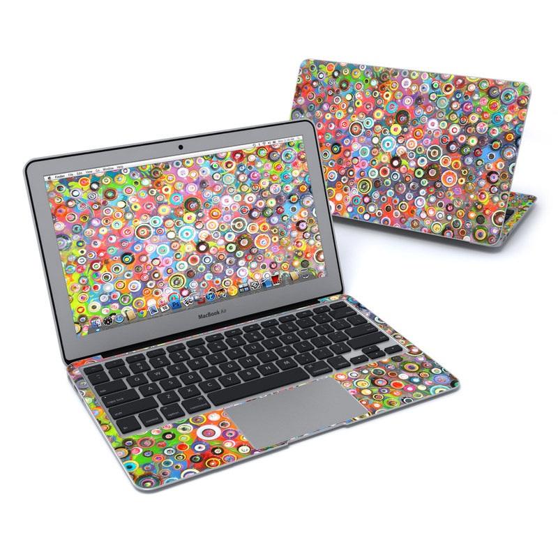 Round and Round MacBook Air 11-inch Skin