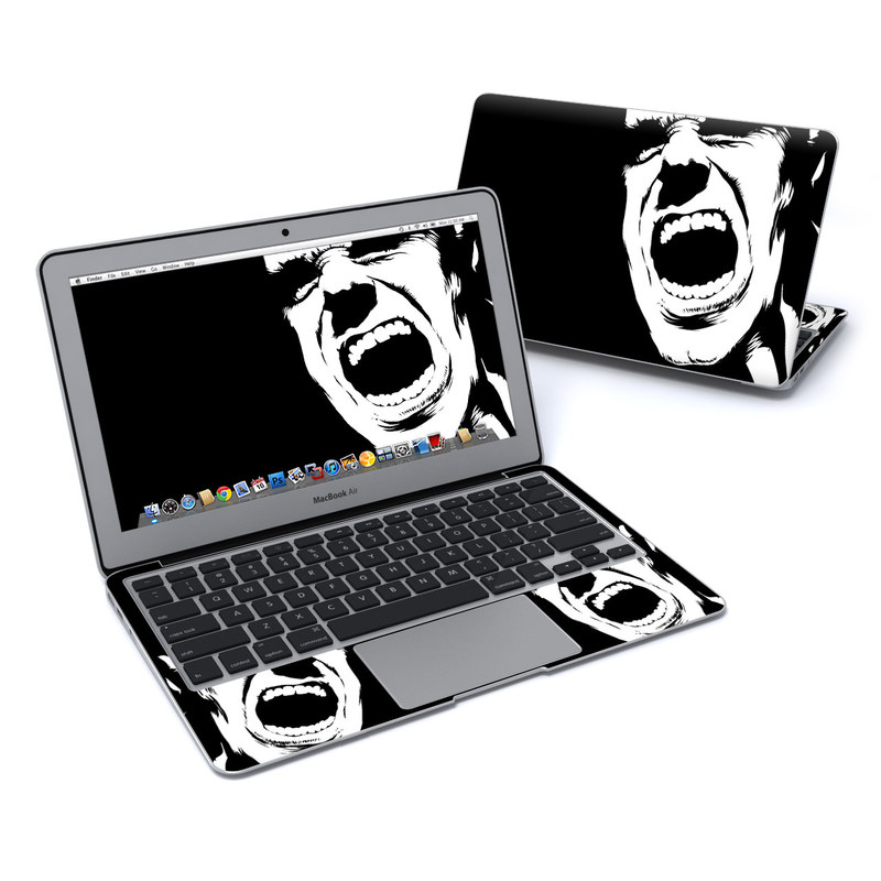 Scream MacBook Air 11-inch Skin