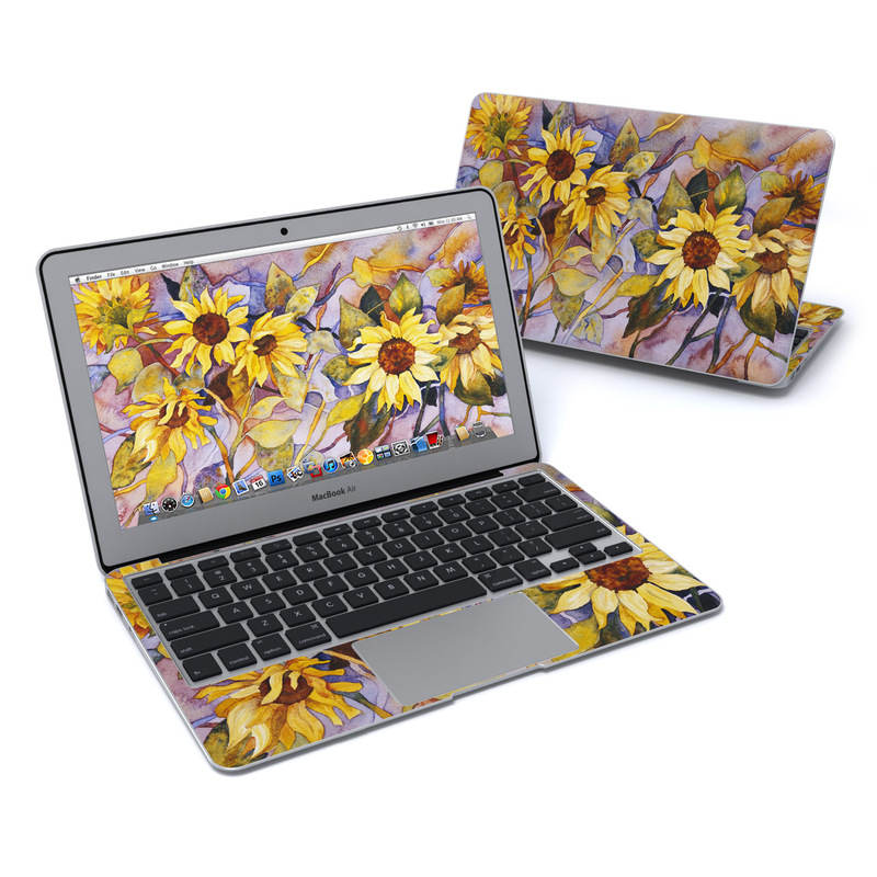 Sunflower MacBook Air 11-inch Skin