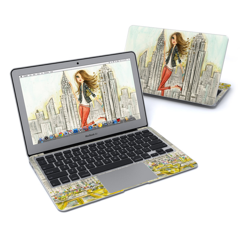 The Sights New York MacBook Air 11-inch Skin