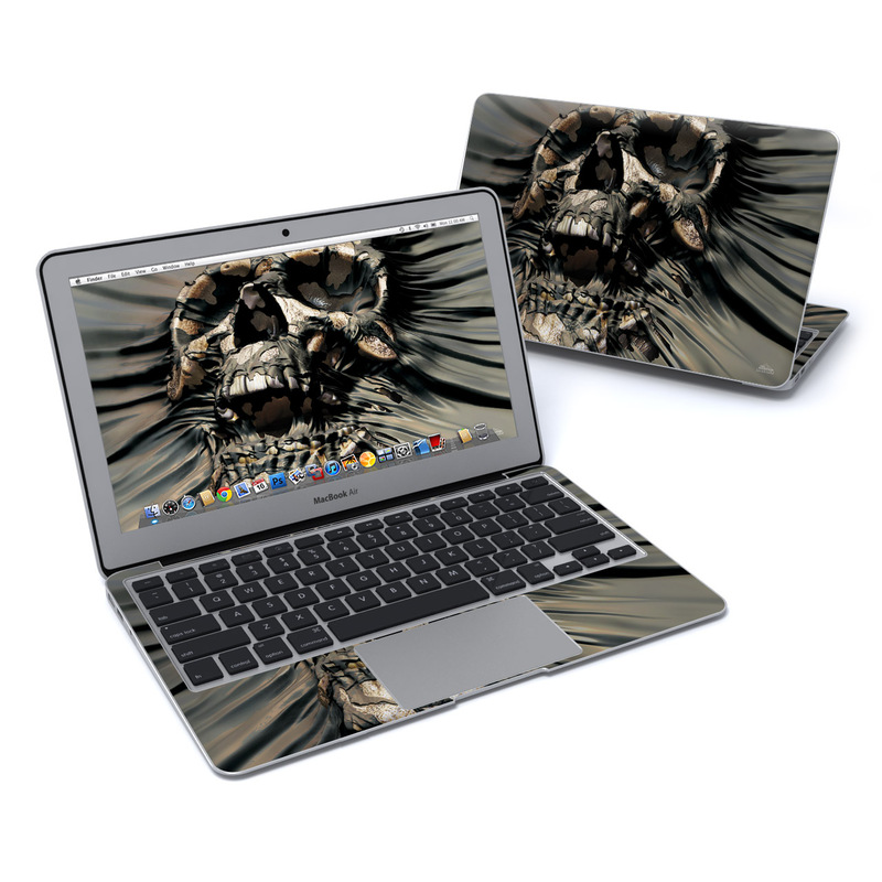 Skull Wrap MacBook Air 11-inch Skin