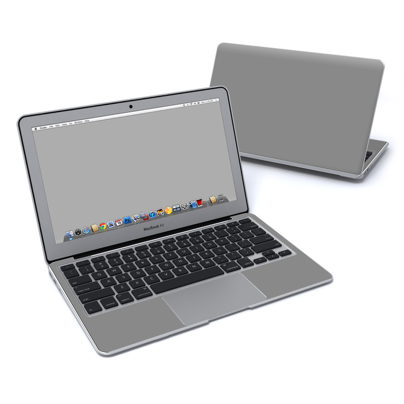 Solid State Grey MacBook Air 11-inch Skin