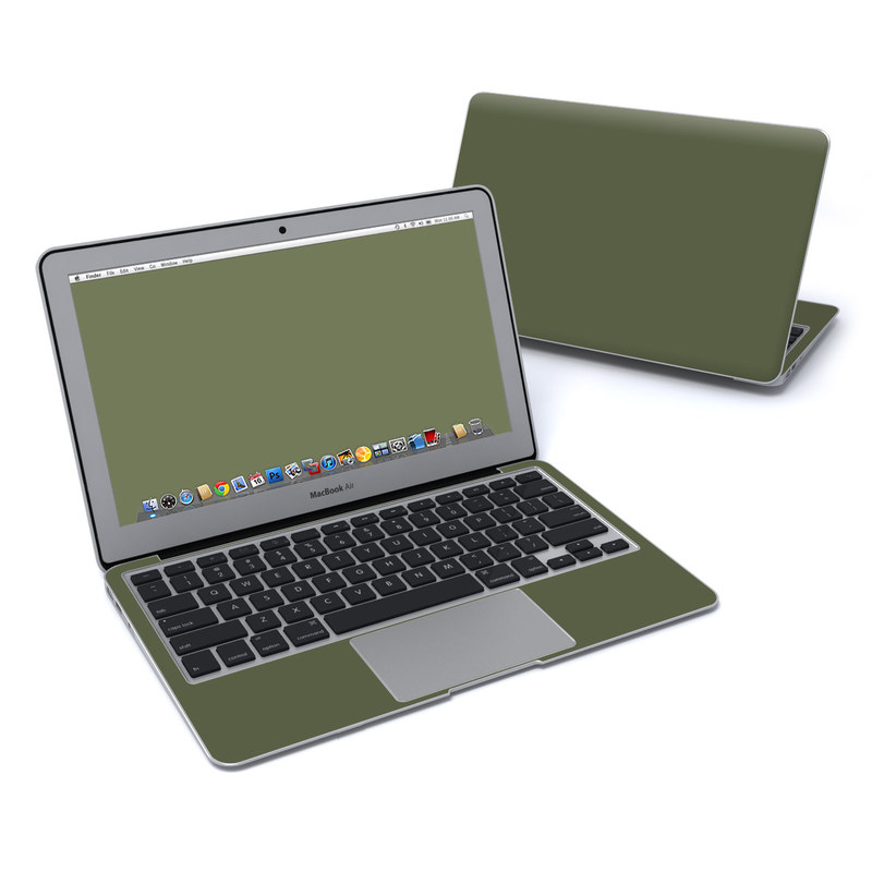 Solid State Olive Drab MacBook Air 11-inch Skin