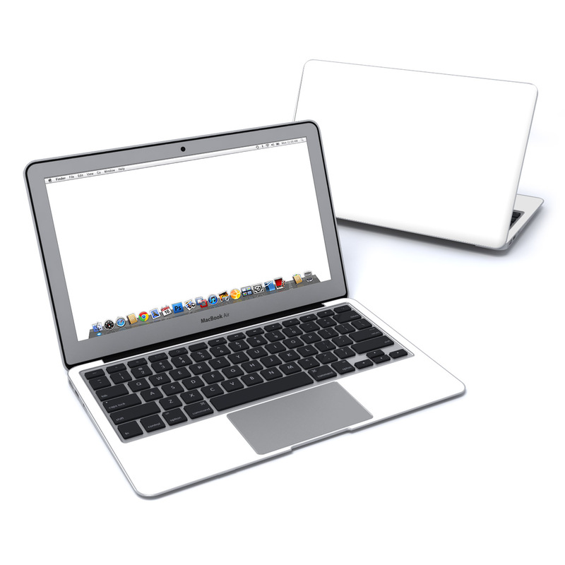 Solid State White MacBook Air 11-inch Skin
