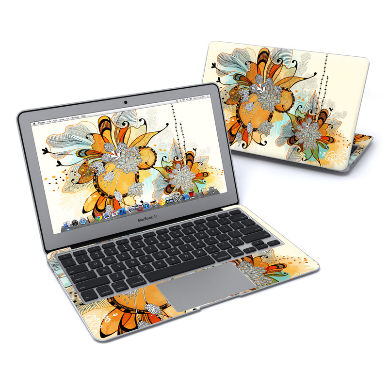 Sunset Flowers MacBook Air 11-inch Skin