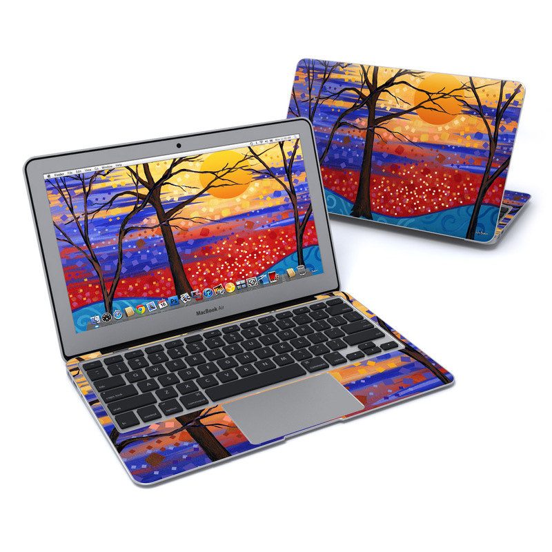 Sunset Moon MacBook Air 11-inch Skin
