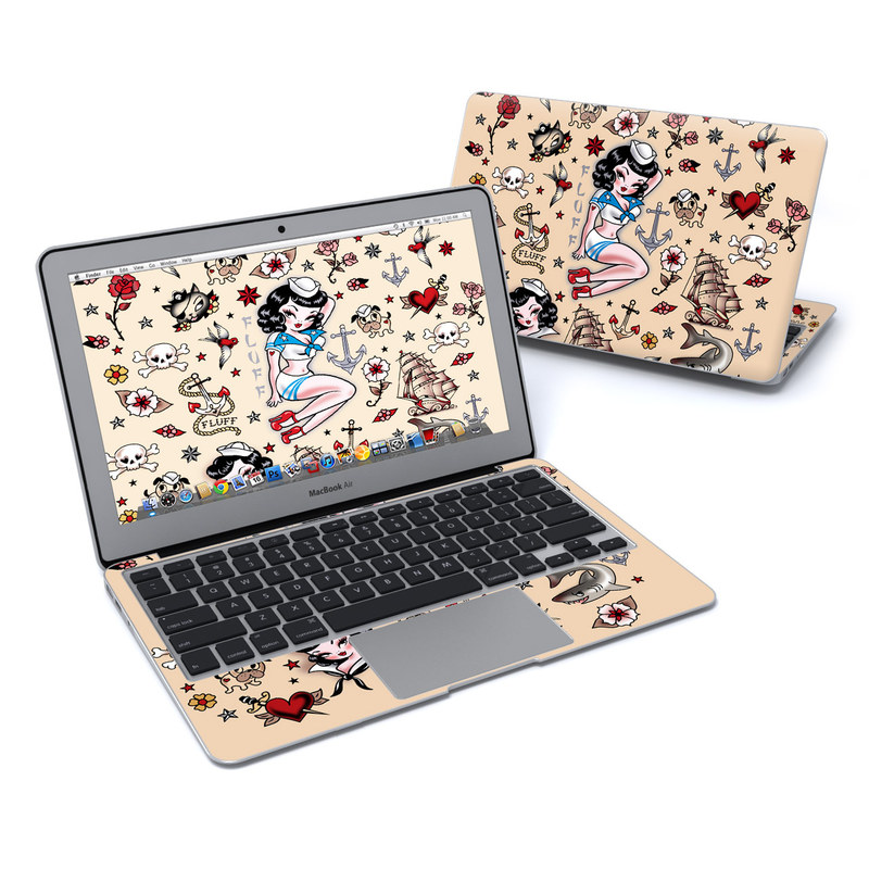 Suzy Sailor MacBook Air 11-inch Skin