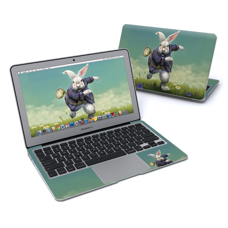 White Rabbit MacBook Air 11-inch Skin