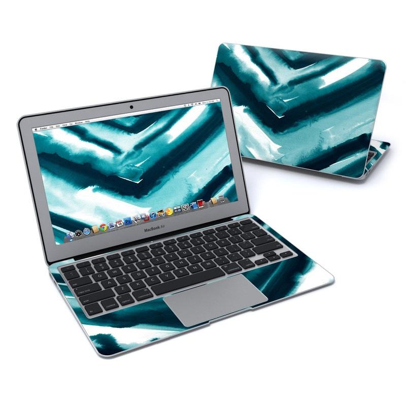 Watercolor Chevron MacBook Air Pre 2018 11-inch Skin