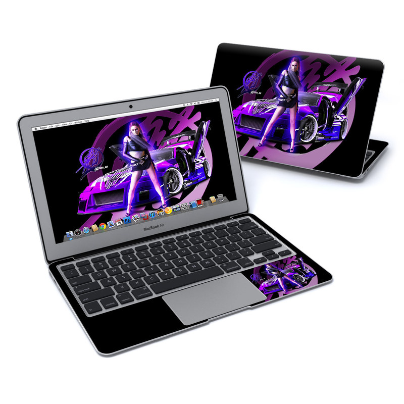 Z33 Purple MacBook Air Pre 2018 11-inch Skin