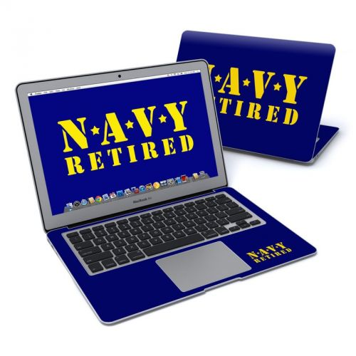 Navy Retired MacBook Air Pre 2018 13-inch Skin