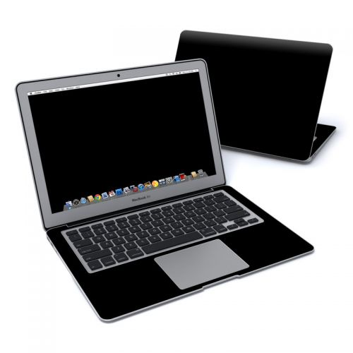 Solid State Black MacBook Air Pre 2018 13-inch Skin