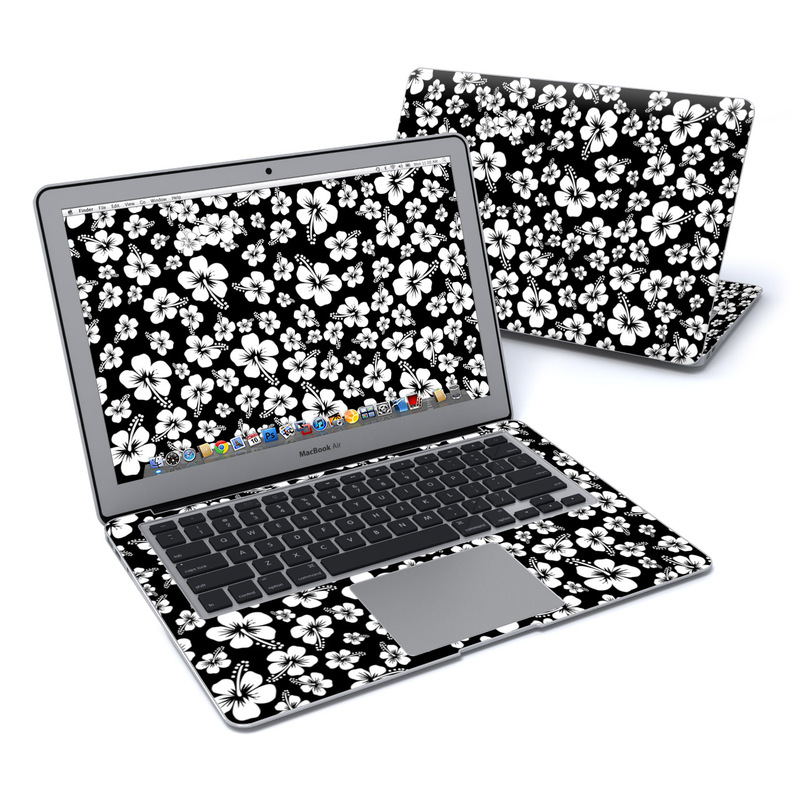 Aloha Black MacBook Air 13-inch Skin