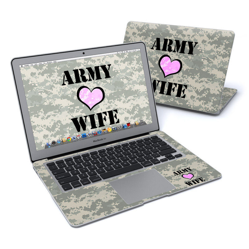 Army Wife MacBook Air 13-inch Skin