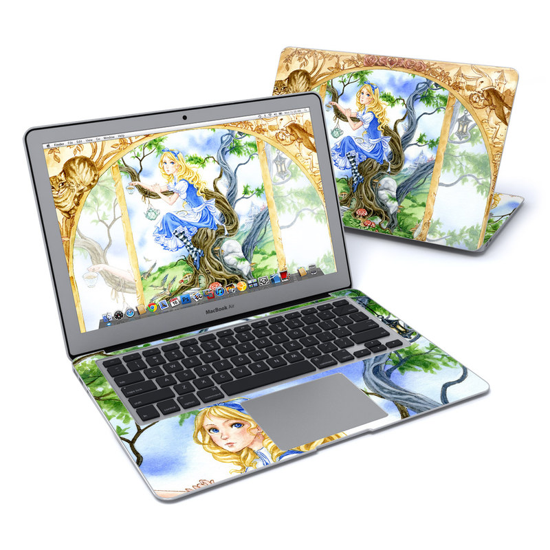 Alice's Tea Time MacBook Air 13-inch Skin