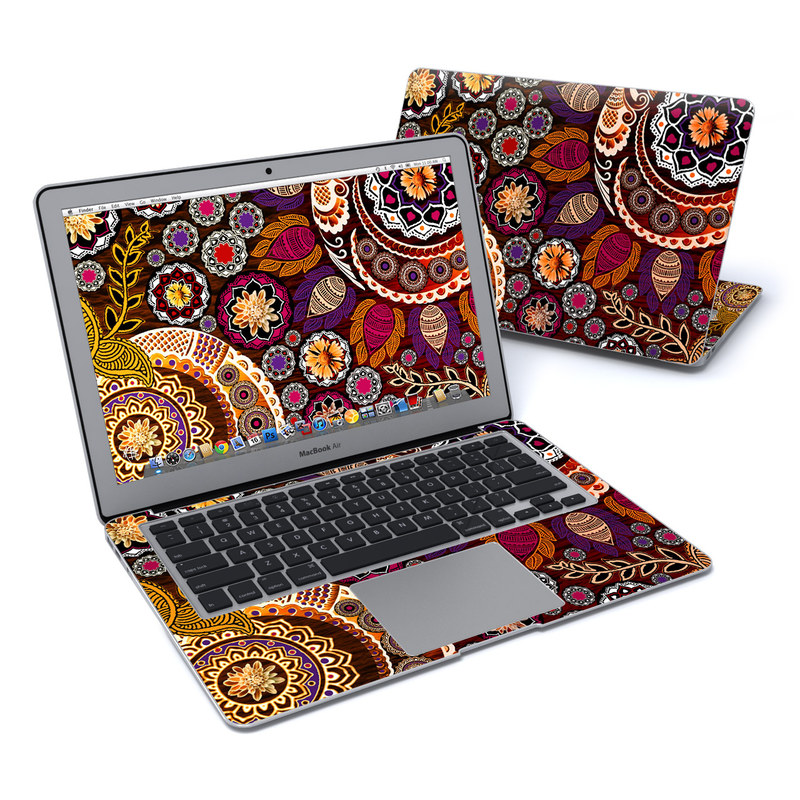 Autumn Mehndi MacBook Air 13-inch Skin