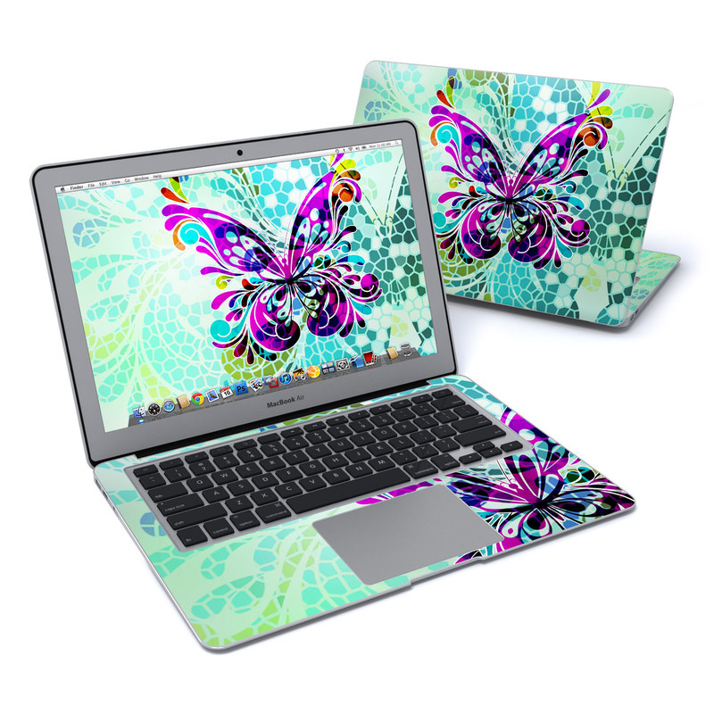 Butterfly Glass MacBook Air 13-inch Skin