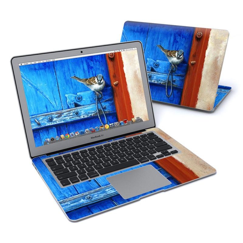 Blue Door MacBook Air Pre 2018 13-inch Skin