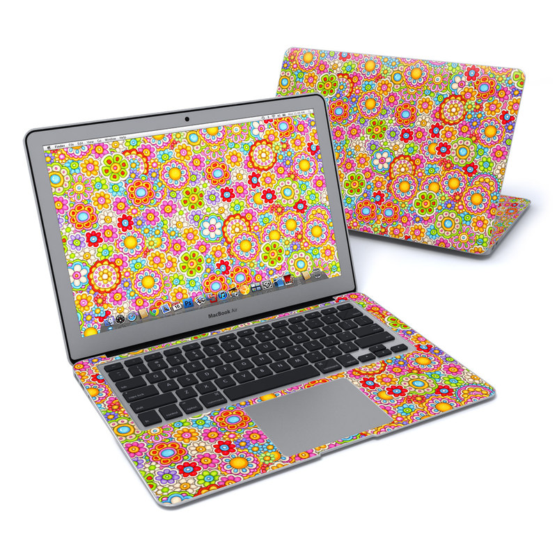 Bright Ditzy MacBook Air 13-inch Skin