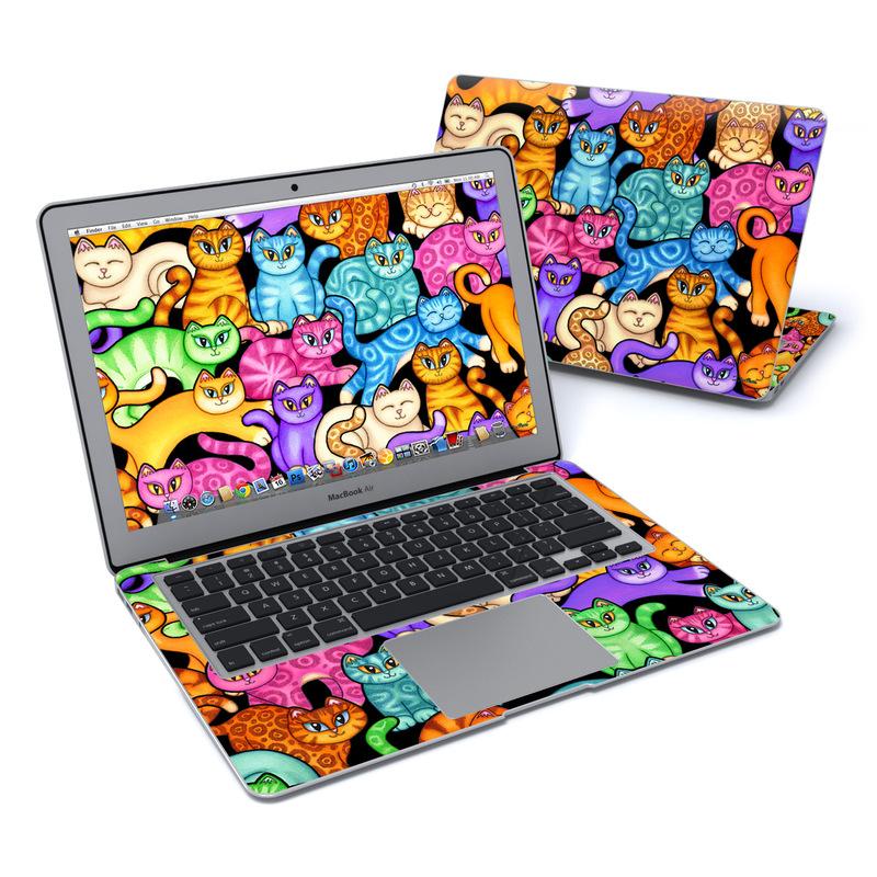 Colorful Kittens MacBook Air 13-inch Skin