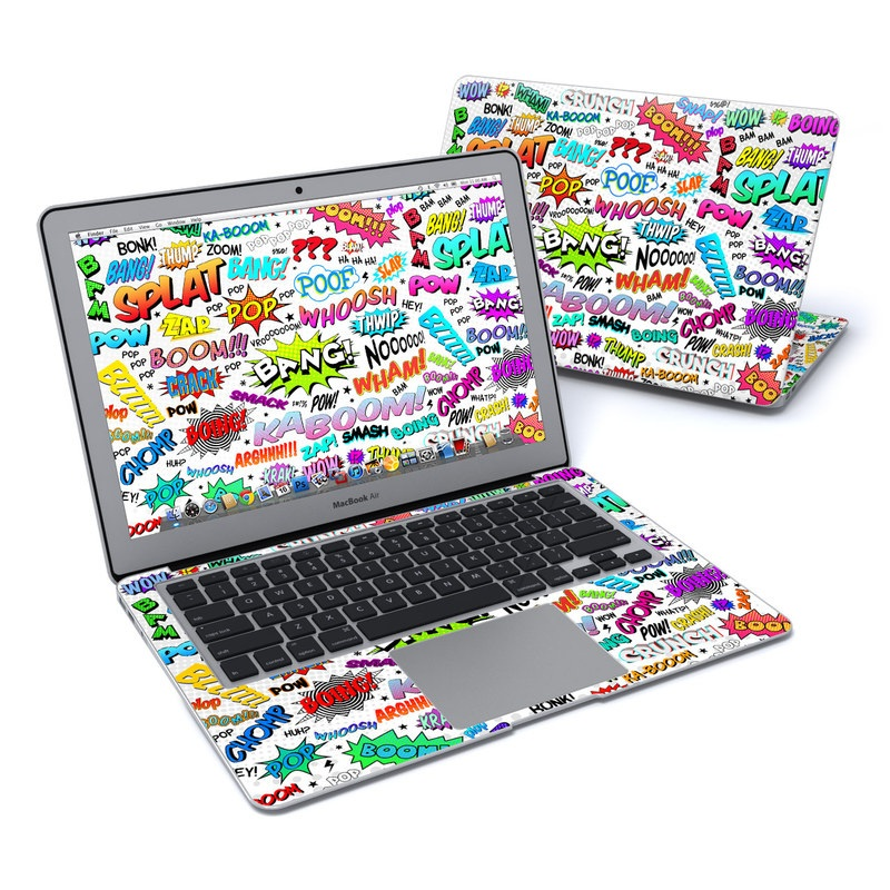Comics MacBook Air 13-inch Skin