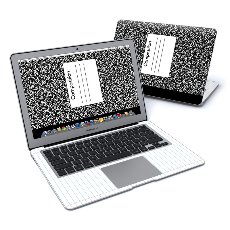 Composition Notebook MacBook Air 13-inch Skin