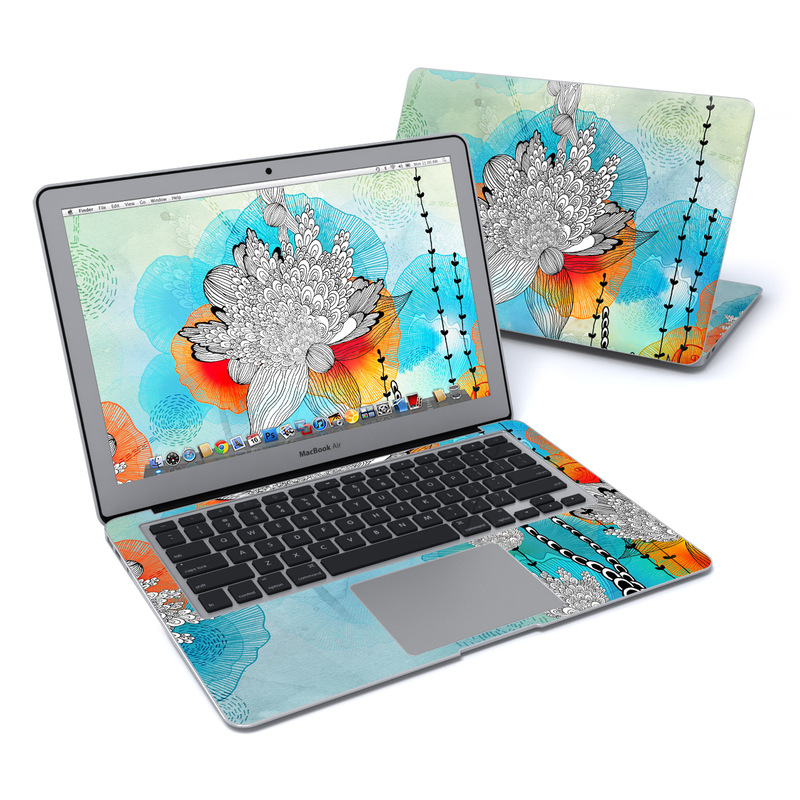 Coral MacBook Air 13-inch Skin