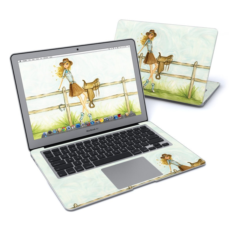 Cowgirl Glam MacBook Air 13-inch Skin