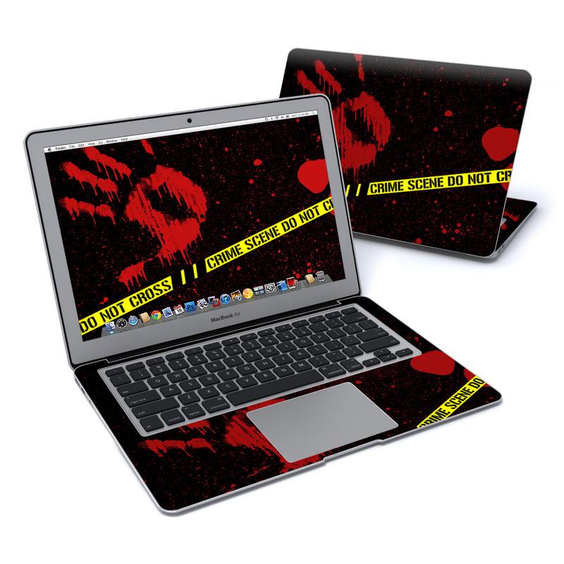 Crime Scene MacBook Air 13-inch Skin