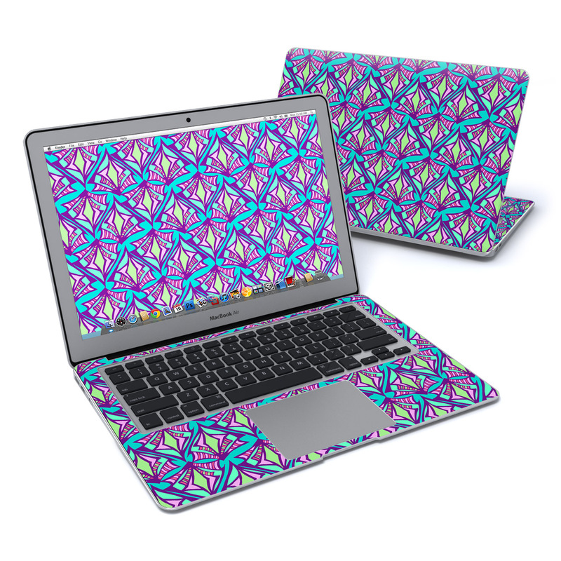 Fly Away Teal MacBook Air 13-inch Skin
