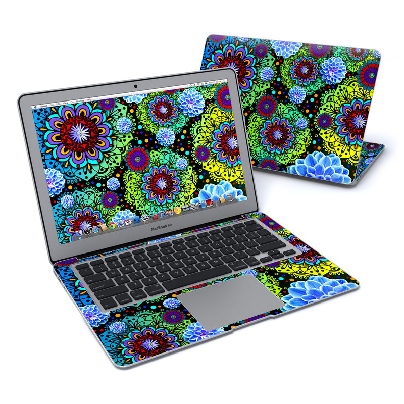 Funky Floratopia MacBook Air 13-inch Skin