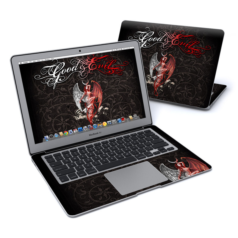 Good and Evil MacBook Air 13-inch Skin