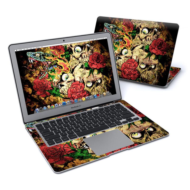 Gothic Tattoo MacBook Air 13-inch Skin