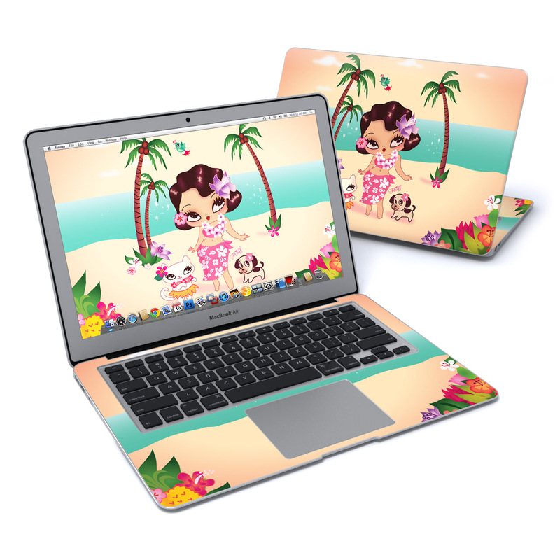 Hula Lulu MacBook Air 13-inch Skin