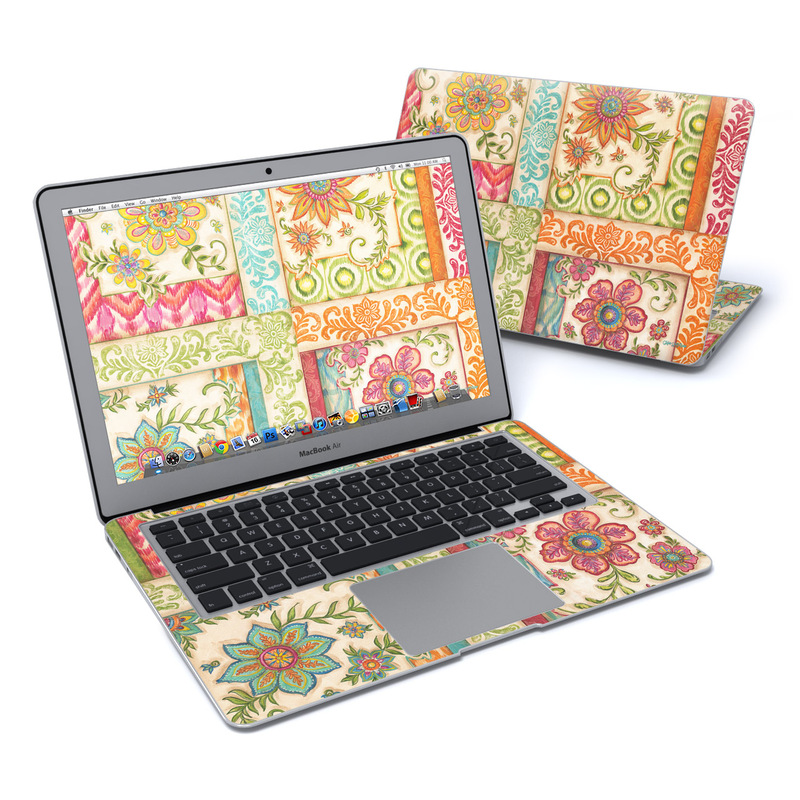 Ikat Floral MacBook Air 13-inch Skin