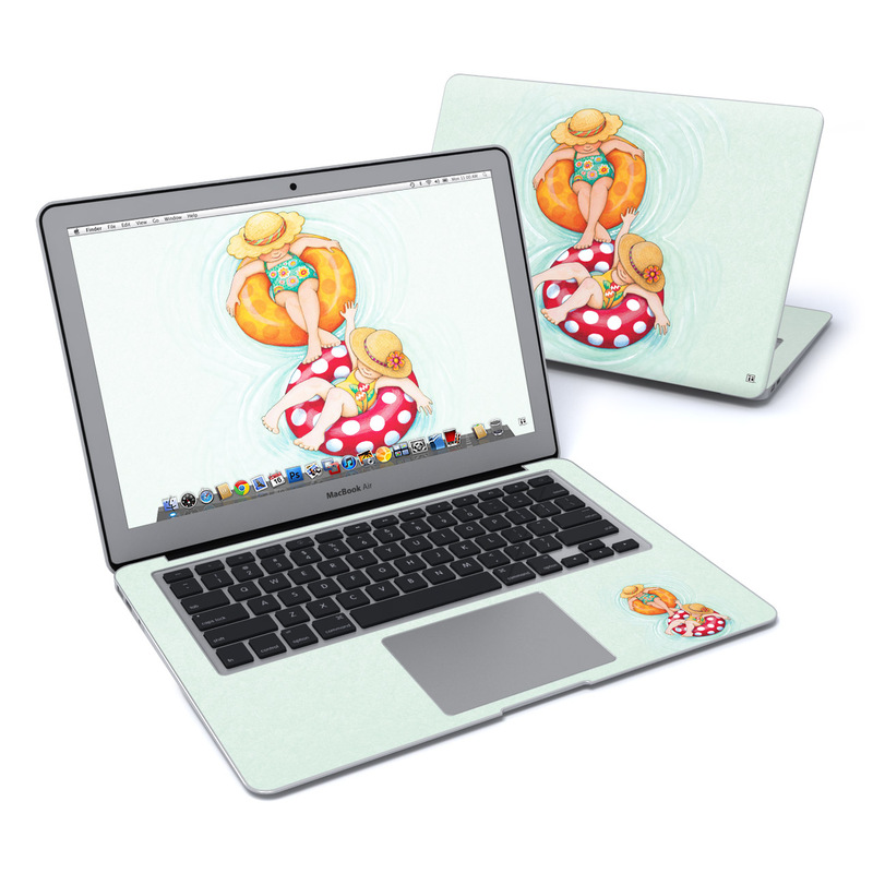 Inner Tube Girls MacBook Air 13-inch Skin