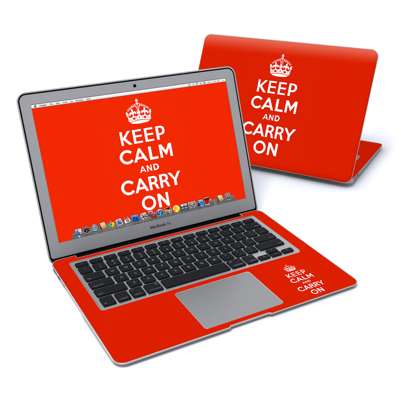 Keep Calm MacBook Air 13-inch Skin