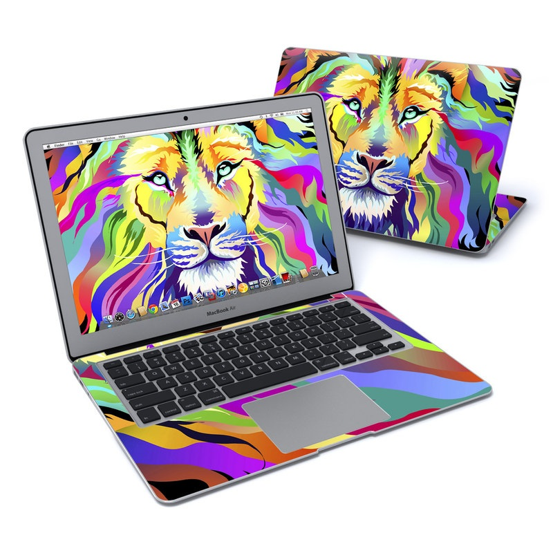 King of Technicolor MacBook Air 13-inch Skin
