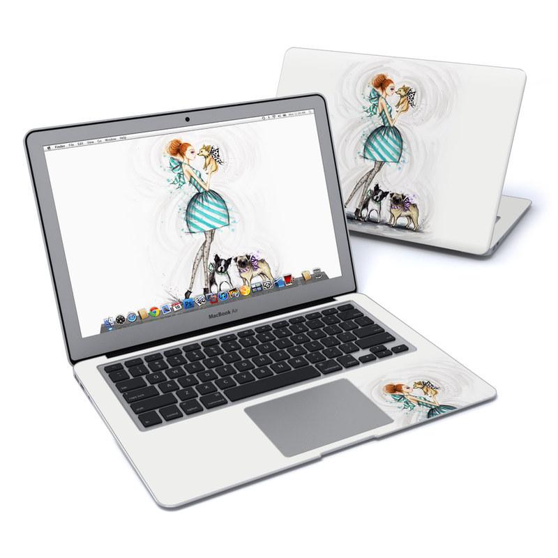 A Kiss for Dot MacBook Air 13-inch Skin