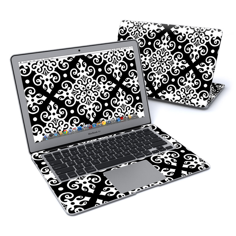 Noir MacBook Air 13-inch Skin