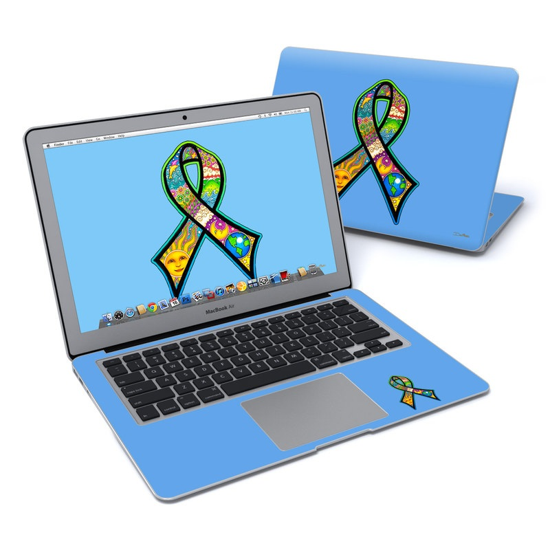 Peace Ribbon MacBook Air 13-inch Skin