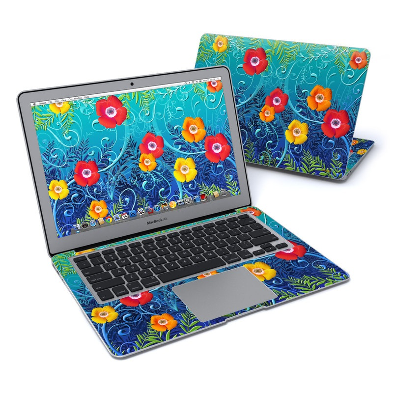Poppies MacBook Air 13-inch Skin