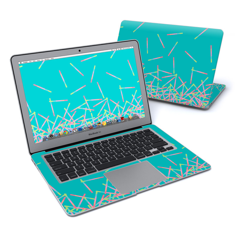 Pop Rocks Wands MacBook Air 13-inch Skin