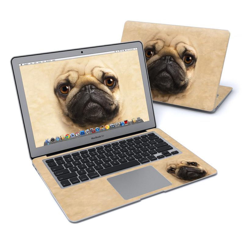 Pug MacBook Air 13-inch Skin