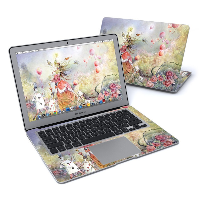Queen of Hearts MacBook Air Pre 2018 13-inch Skin